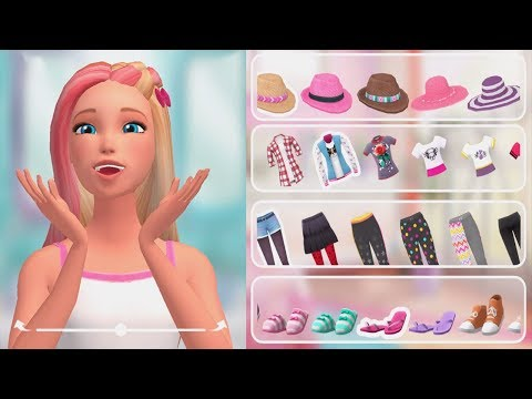 Barbie Dreamhouse Adventures - Barbie Princess & Popstar - Play Fun Design, cook, dance and party!
