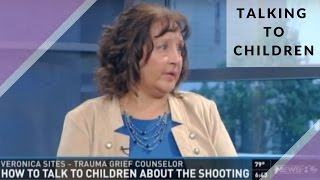 Talking to Children About A Shooting | Veronica Sites