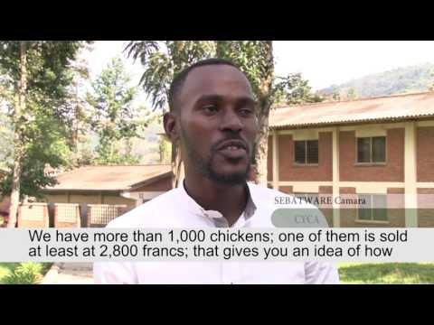 Innovations during Youth in Agribusiness Festival 2016 - Rwanda