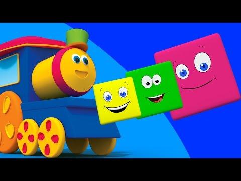 Bob El Tren | Paseo de colores | 3D Canciones infantiles | Bob Train Color Ride