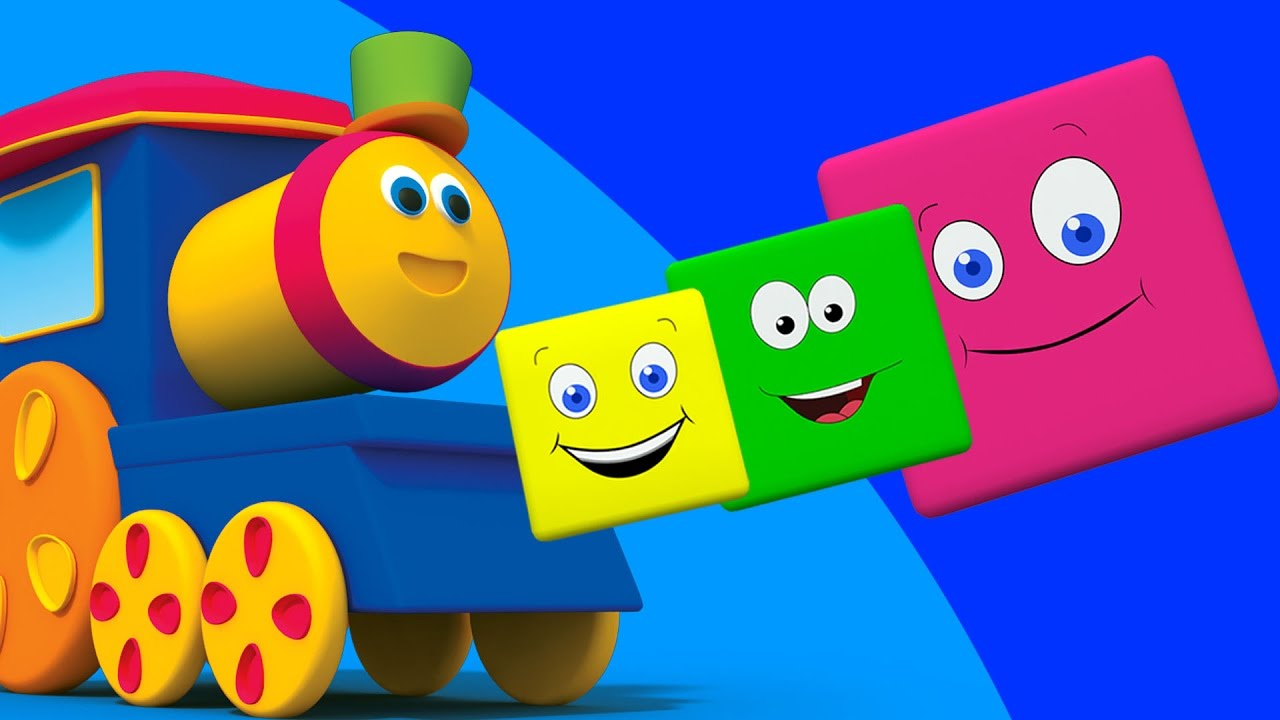 Bob el tren paseo de colores 3d canciones infantiles bob train color ride youtube - Vallas infantiles de colores ...