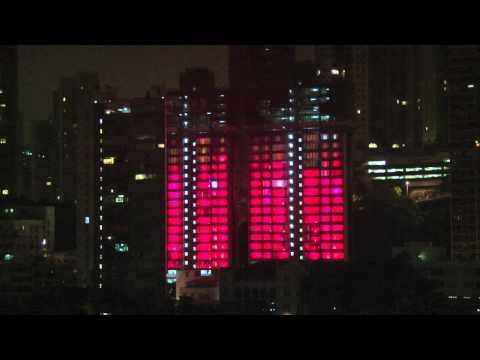 GL events Hong Kong - Winfield Lighting Show