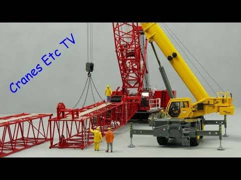 Towsleys Manitowoc MLC300 Crawler Crane by Cranes Etc TV