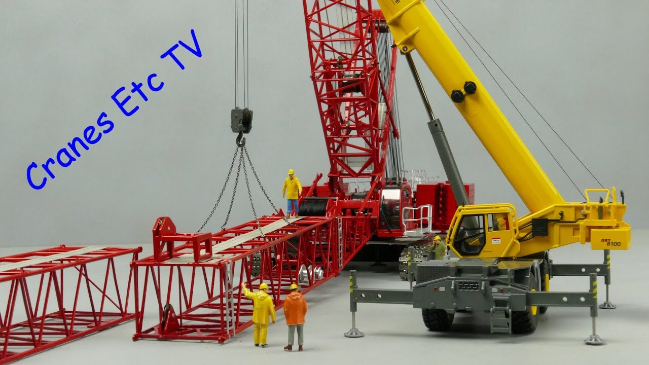Towsleys Manitowoc MLC300 Crawler Crane by Cranes Etc TV - YouTube 6aae2a7141c0