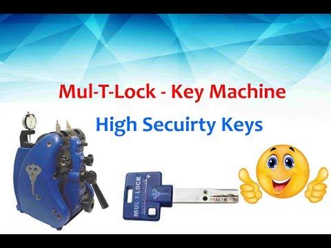 Mul-T-Lock Key Machine - Quick user guide