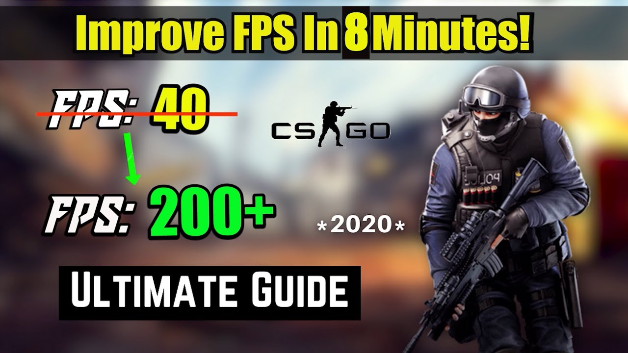 Download CSGO - How To Boost FPS in 8 Minutes (*INSANE* Boost)   2020 Guide!