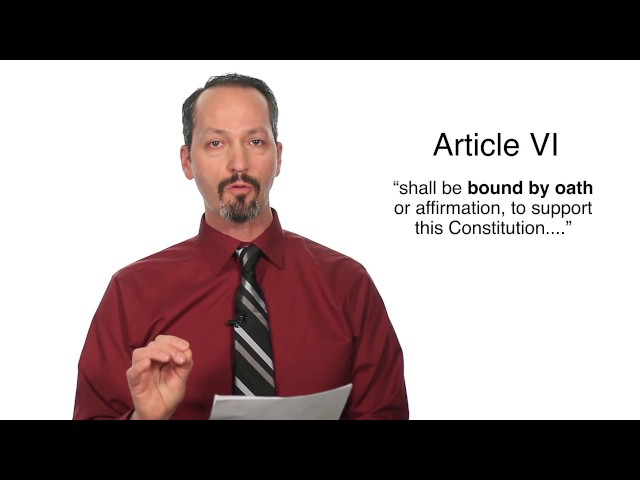 Article VI Not V Is the Solution #Article6not5