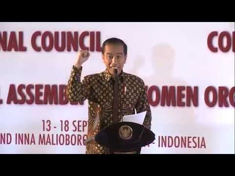 Temu Nasional Perempuan Indonesia & International Council of Women 35th General Assembly