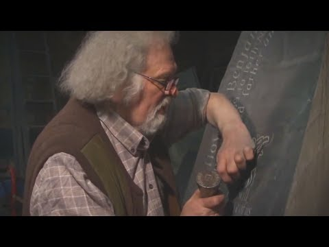 Unintentional ASMR  Welsh Stone Carver (Tapping Gently & Sharing Wisdom)