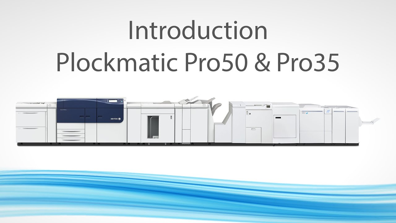 Plockmatic Pro50 and Pro35