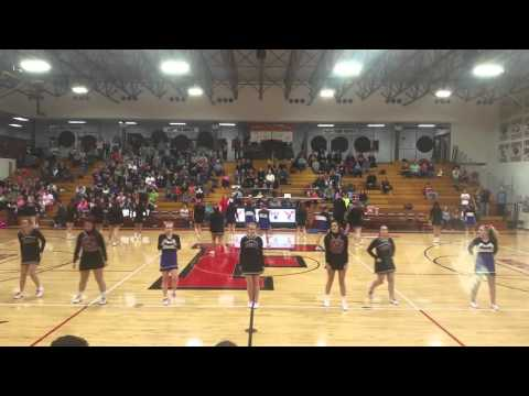 2016 Fremont & Angola Cheer Routine