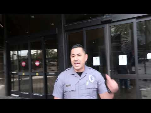 OC FEDERAL COURTHOUSE SECURITY WANTS ME OFF THE PROPERTY...1ST AMENDMENT AUDIT