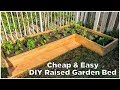 Super Easy & Cheap DIY Raised Garden Bed!