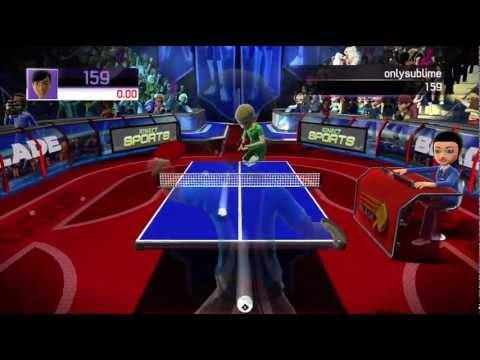 Paddle Panic minigame Kinect Sports 720P gameplay Xbox 360