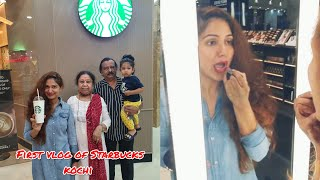 EXCLUSIVE!! Visiting Kerala's first Starbucks and priya's lipstick shopping