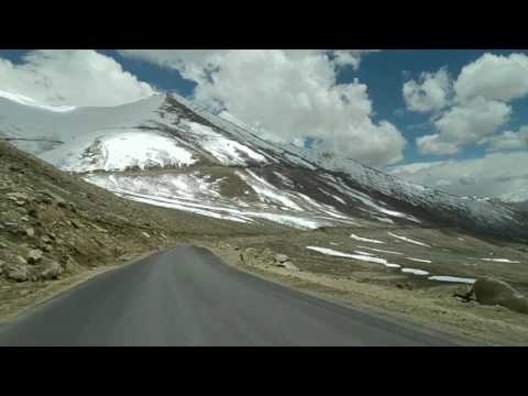 Leh to Khardungla pass Best Video in HD March2018