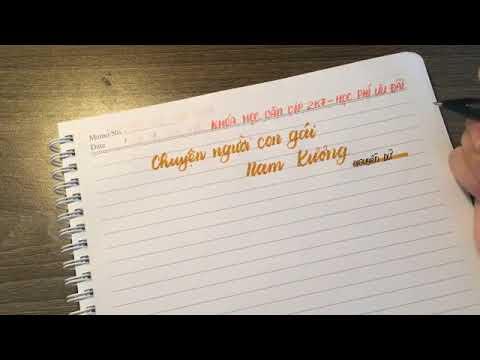 KHÓA HỌC MÙA HẠ || CHUYỆN NGƯỜI CON GÁI NAM XƯƠNG || Học văn chị Hiên