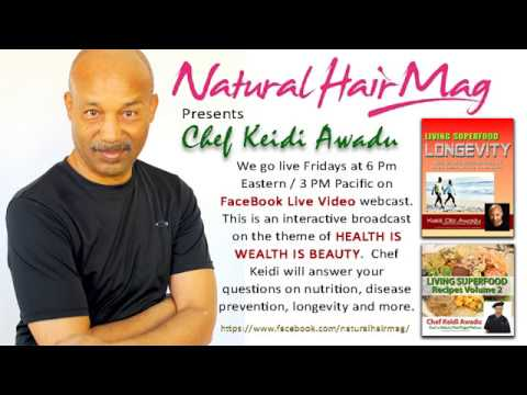 Grandma Said Eat Them Greens - Chef Keidi with Natural Hair Magazine