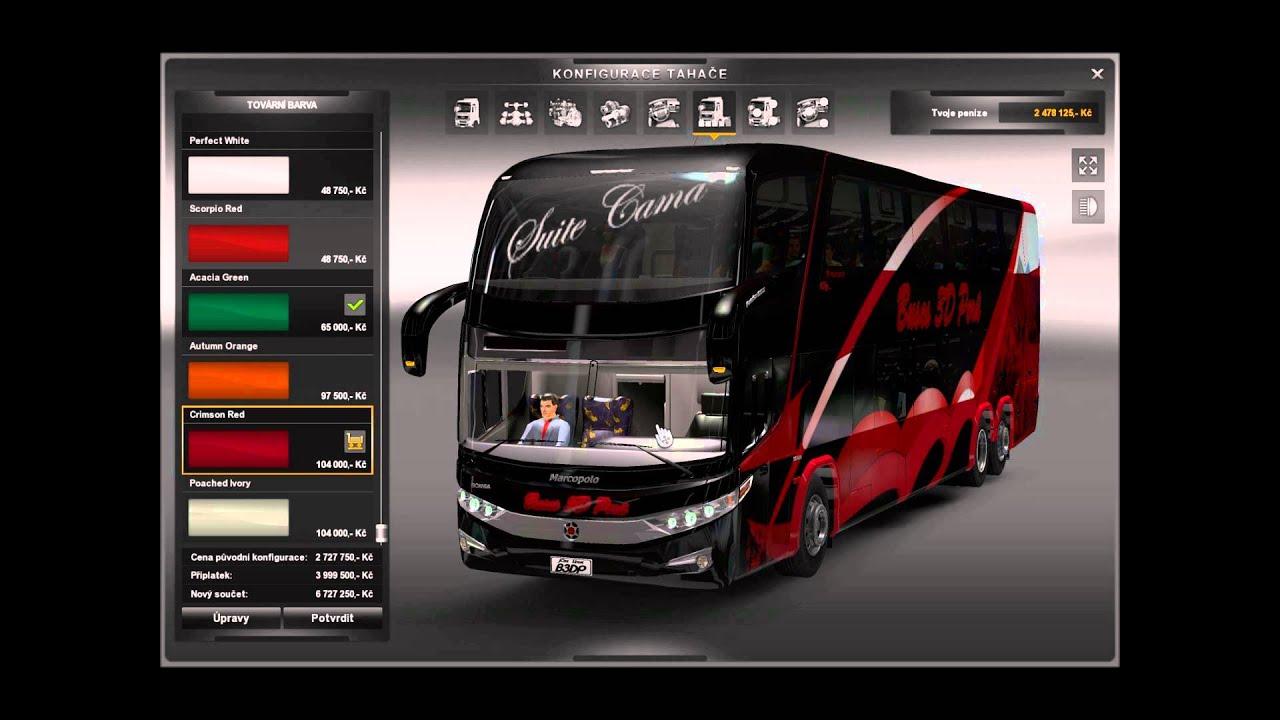 Download Euro Truck Simulator Mods Bus