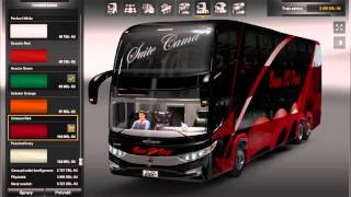 Euro truck simulator Mod Bus+download