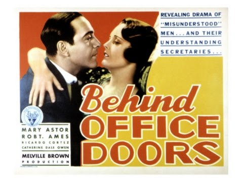 Behind Office Doors  [1931]  Melville W. Brown