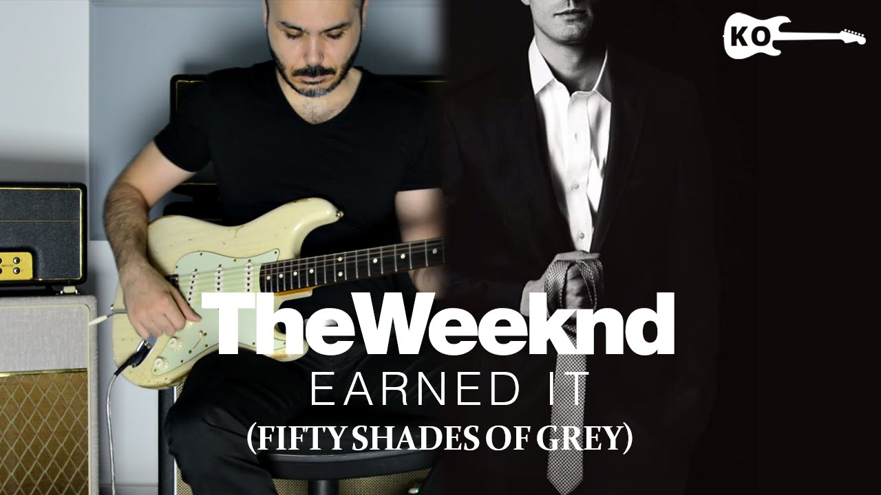 The Weeknd - Earned It - Electric Guitar Cover by Kfir Ochaion\
