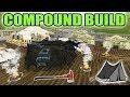 FARMING SIMULATOR 2017 | CAMPING SURVIVAL | COMPOUND BUILD | NEW SECRET TRAP!