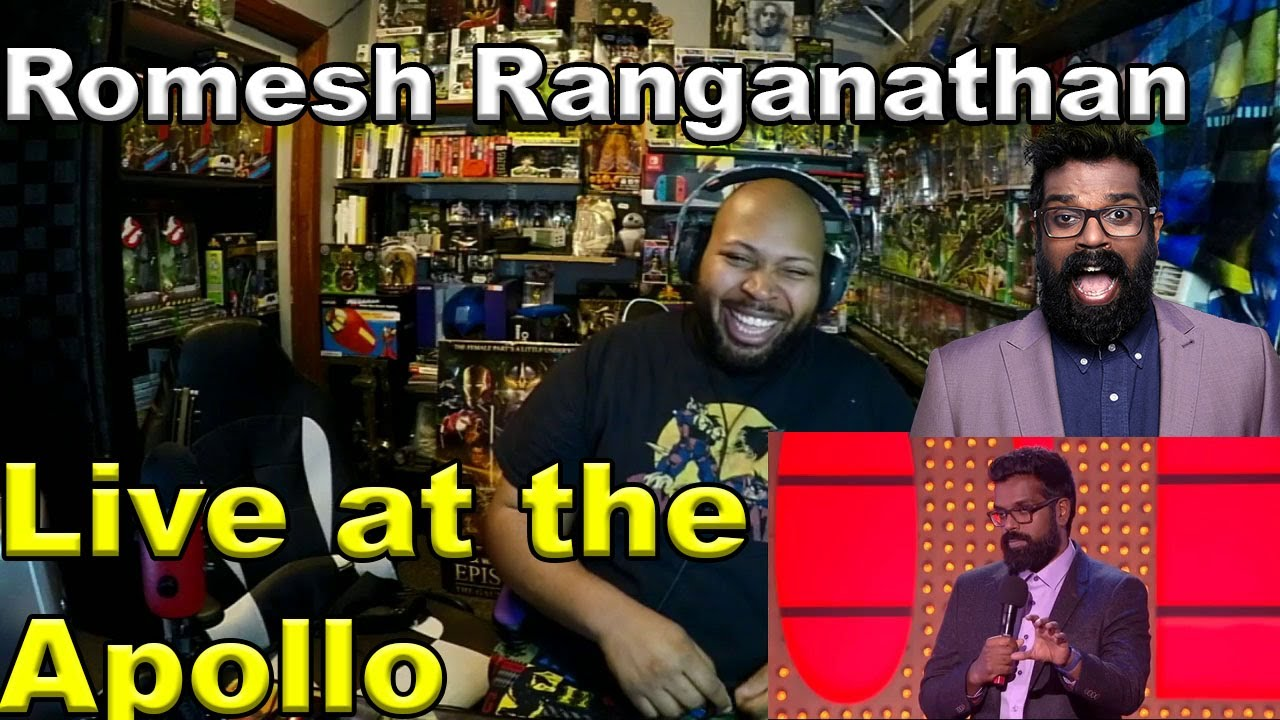 Romesh Ranganathan Live at the Apollo Reaction