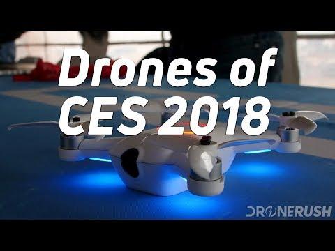 Drones of CES 2018 – recap mega-reel