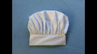 Adjustable Chef Hat DIY