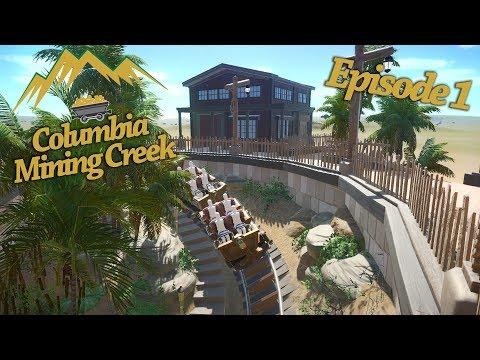 Columbia Mining Creek | Episode 1 | Vekoma Minetrain Coaster (Planet Coaster Timelapse) |