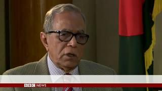 'We must protect Bangladesh's secularism' says President Hamid - BBC News