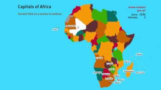 Capitals of African Countries