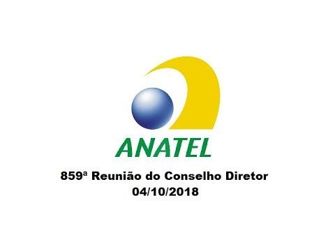 859ª Reunião do Conselho Diretor, de 04/10/2018