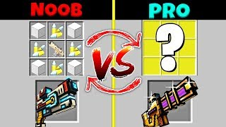 Minecraft Battle: NOOB vs PRO: SWAPPED GUN CHALLENGE / Animation Compilation