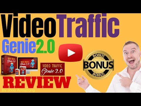 Video Traffic Genie 2.0 Review, ⚠️WARNING⚠️ DON'T GET THIS WITHOUT MY 👷CUSTOM👷 BONUSES!!