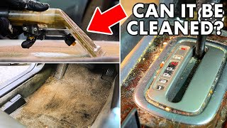 complete Disaster Full Interior and Exterior Car Detailing! DEEP CLEANING The Nastiest Car Ever!