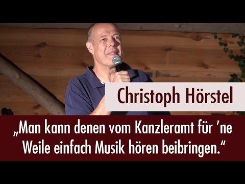 Christoph Hörstel beim 1. Friedensfest am See am 17.09.2016