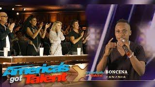 MTanzania aingia nusu Final America got Talent/Boncena awakalibisha wazungu serengeti