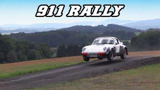 Porsche 911 classic Rally cars - Great Flat-6 sounds (jumps, drifts, revving)