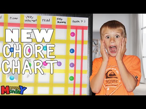 Two New Family Members & New Chore Chart    Mommy Monday