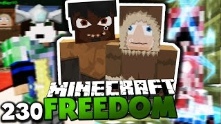 DER MÖRDERISCHE CREEPER TOWER & GLP IST WIEDER DA! ✪ Minecraft FREEDOM #230 | Paluten