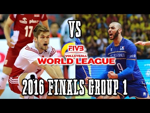 Poland vs  France  World League THRILLER 2016  Finals Group 1 FULL MATCH BREAKS REMOVED