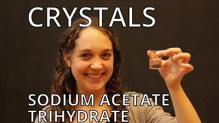 Sodium Acetate Trihydrate - Crystals