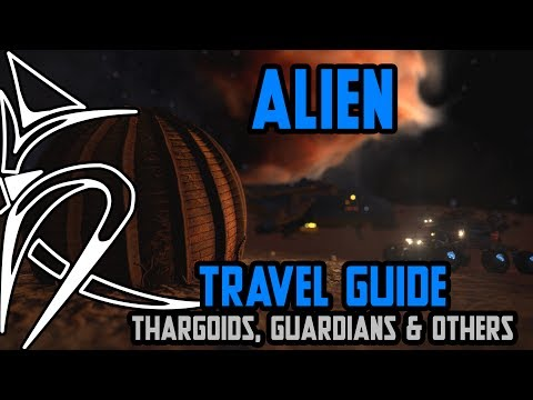 Travel guide : Thargoids, Guardians and other alien things  [Elite Dangerous]