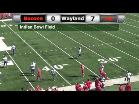 Bacone vs. Wayland Baptist - Football (10-08-2016)