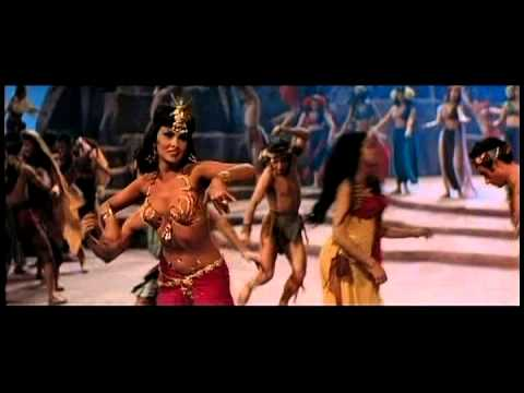 Gina Lollobrigida as Sheba  Pagan dance