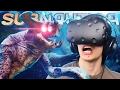 SEA EMPEROR IN VIRTUAL REALITY?! | Subnautica VR Mode (HTC Vive) - #2