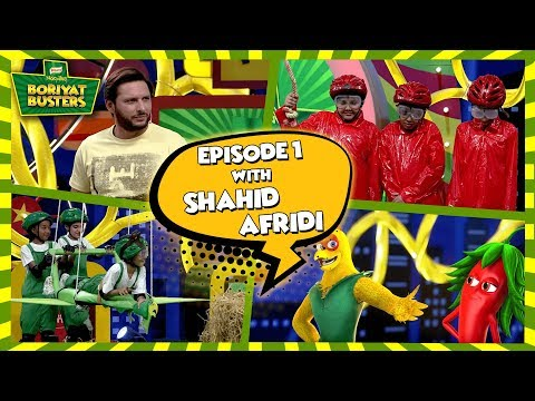 Knorr Noodles Boriyat Busters  Season 2 - Episode 1 with Shahid Afridi