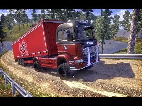 Truckers map by.goba6372.r28